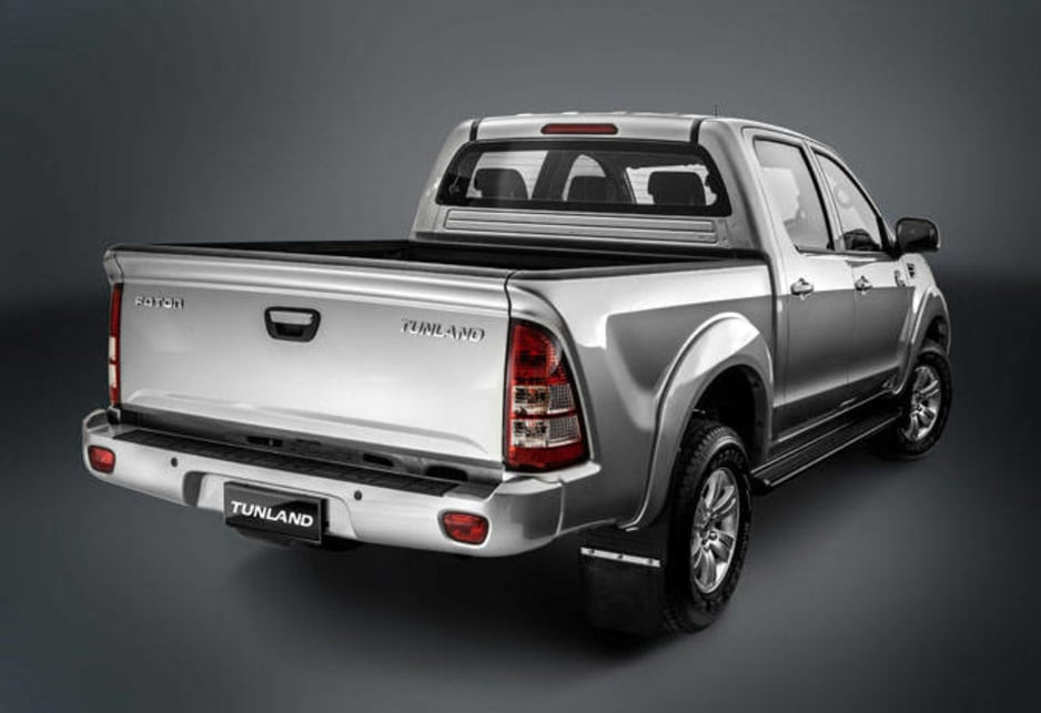 The 4x2 Tunland starts at $28,000 and the 4x4 model from $34,500.