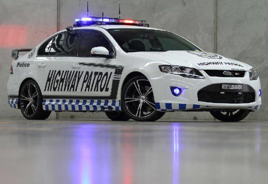 The standard Falcon GT has 335kW of power but this one has 400kW after it was upgraded with a bigger exhaust and fuel injectors. Until now, the most powerful police car in Australia was a Holden Special Vehicles V8 used by Queensland police, with 325kW. But both the Holden and Ford have neck-and-neck performance, able to reach the speed limit in about 5 seconds.