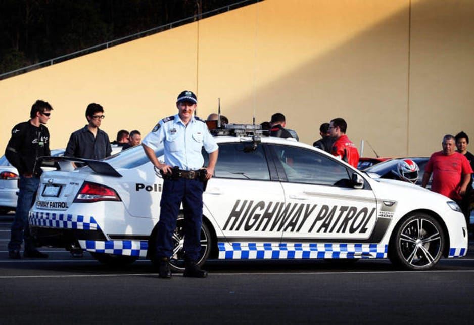 """It's a conversation starter,"" says Inspector John Lipman, the commander of the traffic technology section. ""It's about interacting with car enthusiasts and having a similar vehicle to what they would have or what they might aspire to."" It's also about having revheads realise what technology police have and ""hopefully encourage them to stay within the law."""