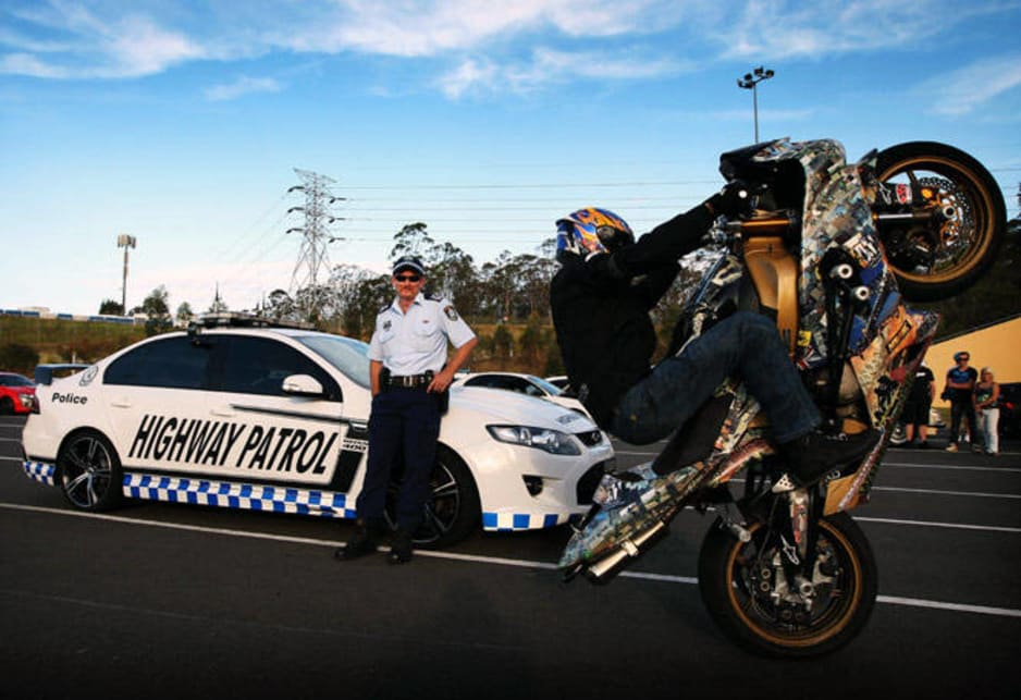 The limited edition Falcon GT – the fastest ever car built by Ford Australia – has all the latest technology to catch high-speed crooks but it will be used as a public awareness vehicle at events across the state to break down the barriers with car enthusiasts.