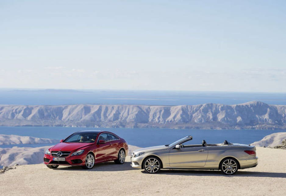Mercedes-Benz E-Class coupe and convertible
