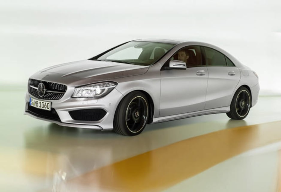 Mercedes-Benz CLA unveiled