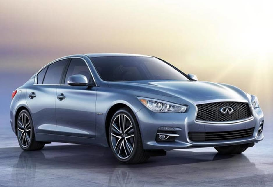 A Q-car will be Infiniti's rival to the BMW 3 Series and Lexus IS sedans when it goes on sale here late this year.