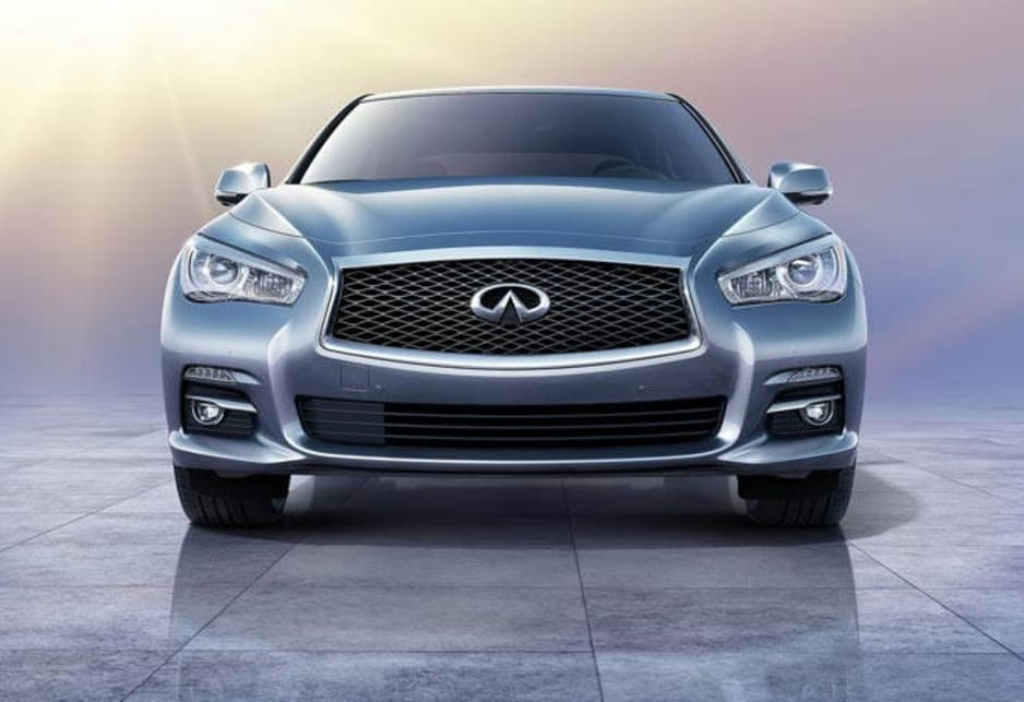 Infiniti Australia has yet to confirm powertrains for the Q50 but the US launch included the familiar 3.7-litre V6 tweaked to produce 245kW and the potent 3.5-litre petrol-electric hybrid that now drives the M35h and delivers 220kW from the engine and 50kW from the electric motor.