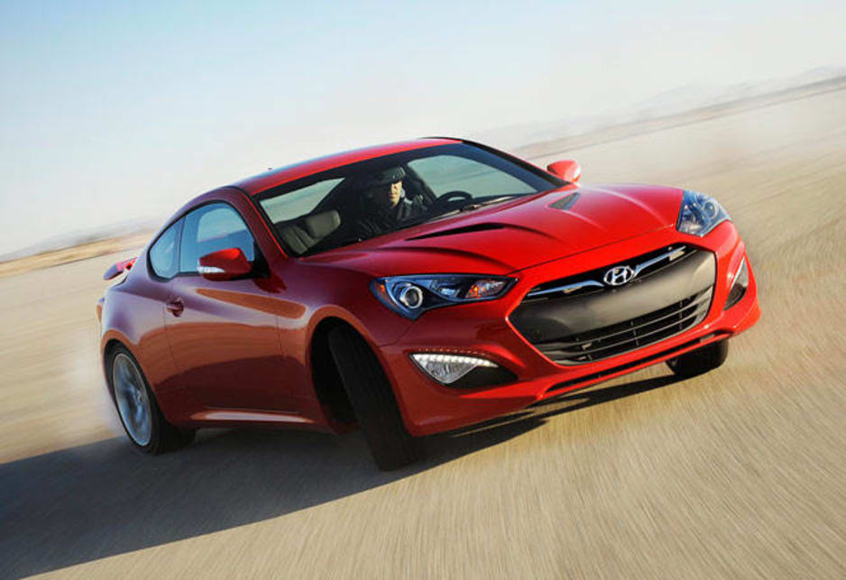 Hyundai has joined the growing number of car makers extracting epic power and torque from turbocharged 2.0-litre four-cylinder engines (204kW and 373Nm, if my imperial-to-metric conversions work, put it in the company of the Volkswagen Golf R and Renault Megane RS).