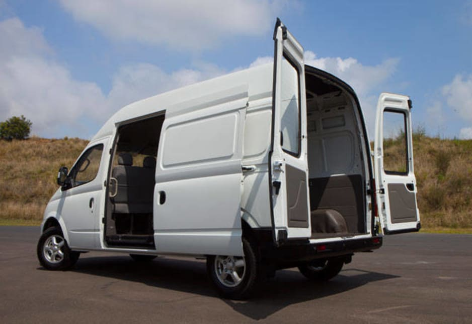 The van range comes in short and long-wheelbase models with a choice of roof height and is aimed squarely at tradespeople and those in the business of moving people but the brand has plans for a peoplemover to join the fray.