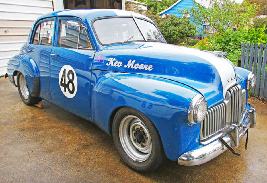 Kev Moore's classic race cars
