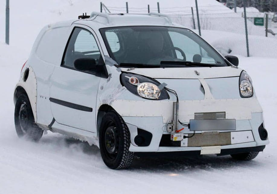 Smart ForFour: Spy Shots