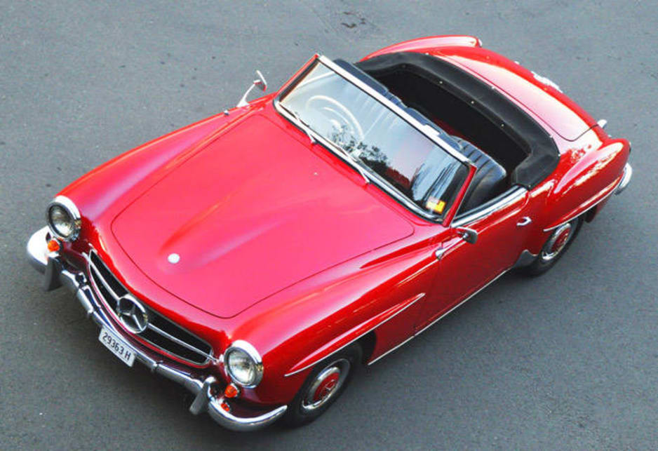 My 1963 Mercedes-Benz 190SL