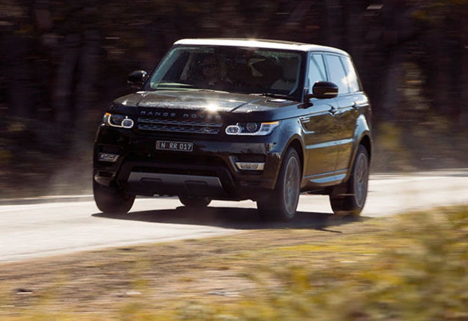 Very roughly speaking, the Sport's a visual blend of the Evoque and the senior Range Rover.