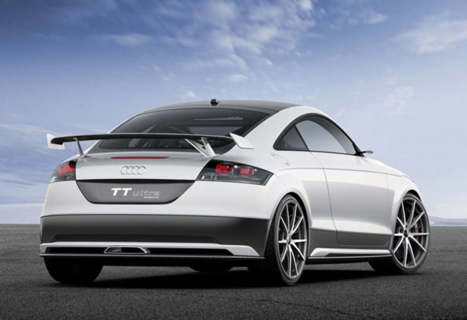 2013 Audi TT lightweight Worthersee concept