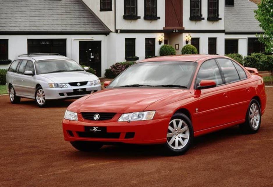 2003 Holden VY Series II Commodore sedan and wagon.