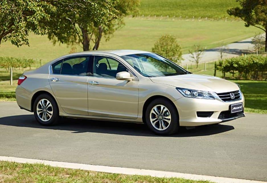 The new Accord has a conservative body shape. It works well to our eyes and some may feel it makes the shapes of the latest crop of upmarket German sedans look rather over-styled in comparison.