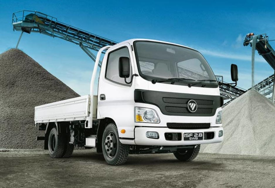 Foton will now offer a full line of trucks, with two different engine options, both Cummins.