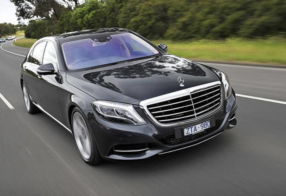 It's not a car, it's a day spa on wheels. The most advanced car in the world -- the new Mercedes-Benz S-Class limousine -- has gone on sale in Australia.