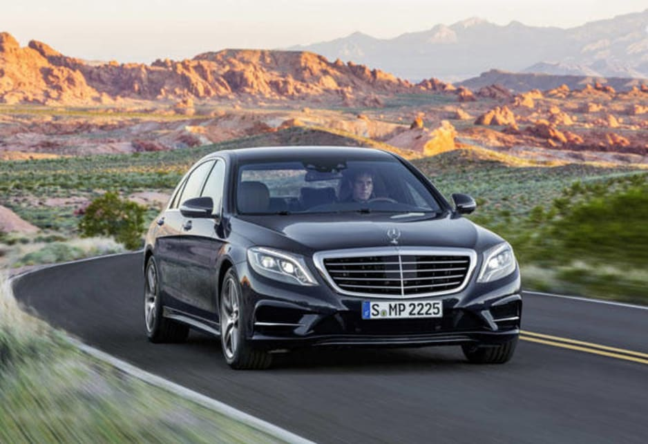 The Mercedes-Benz S-Class can also slam the brakes automatically from 7km/h to 200km/h (for German autobahns) if it detects you're about to hit the car in front. And it can park itself at the press of a button (just as a Holden Commodore, Volkswagen Golf or Ford Focus can).
