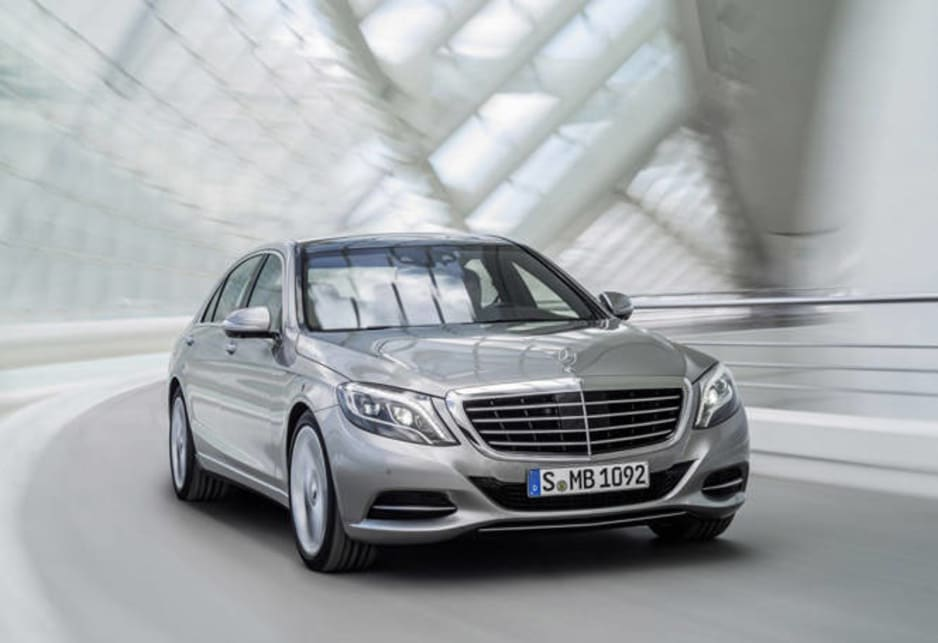 The S-Class was precipitated by the leaking of full brochures.