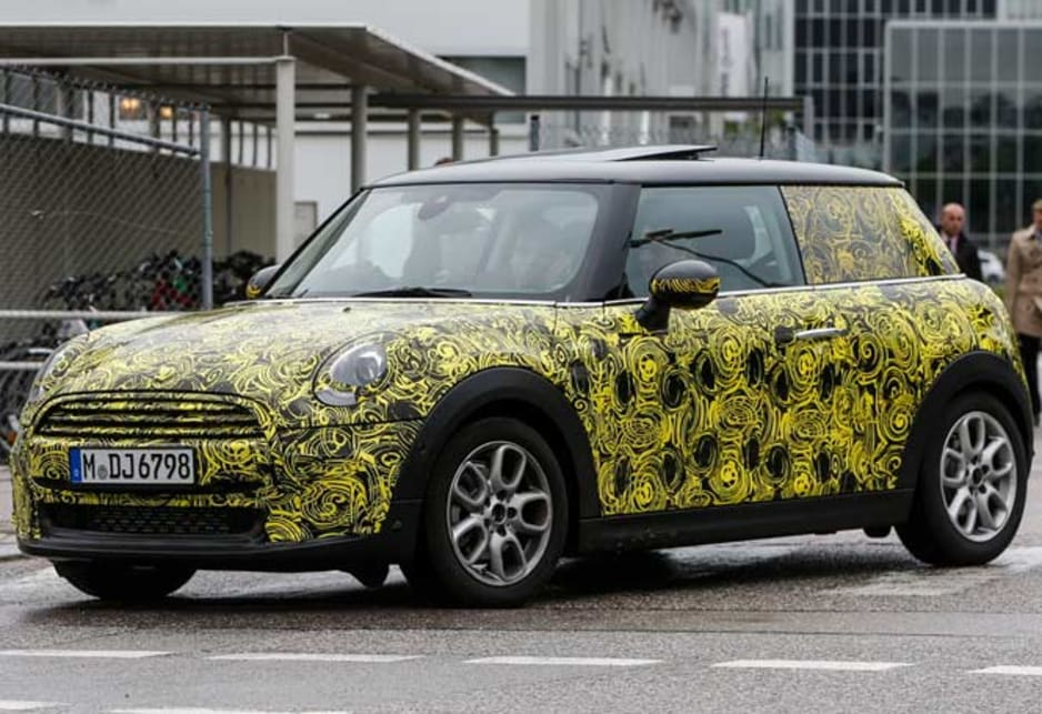 This is the clearest indication yet of the final style of the next Mini Cooper.