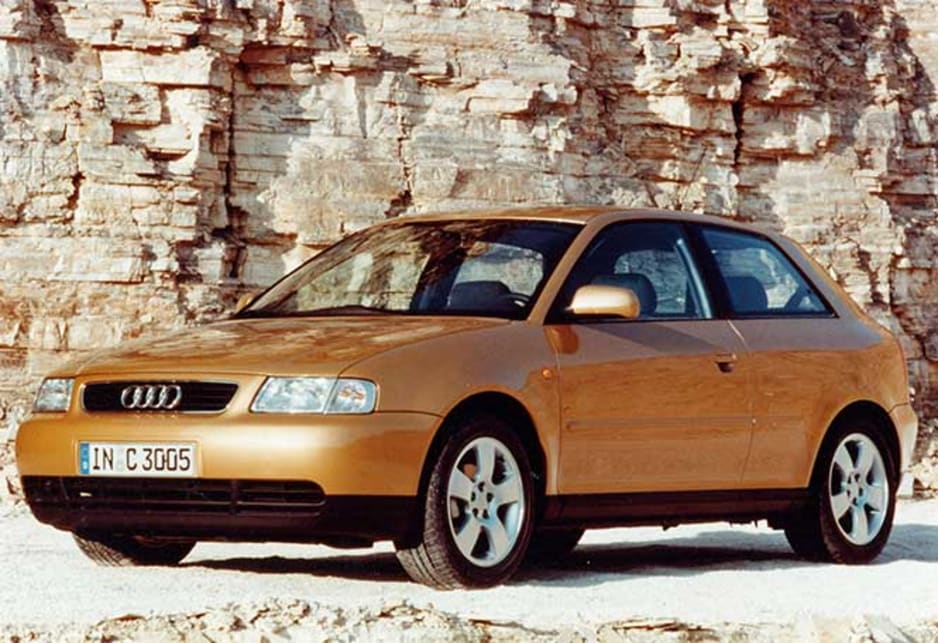 1997 Audi A3. Audi is often in the vanguard of vehicle design and the A3 is a classic example.