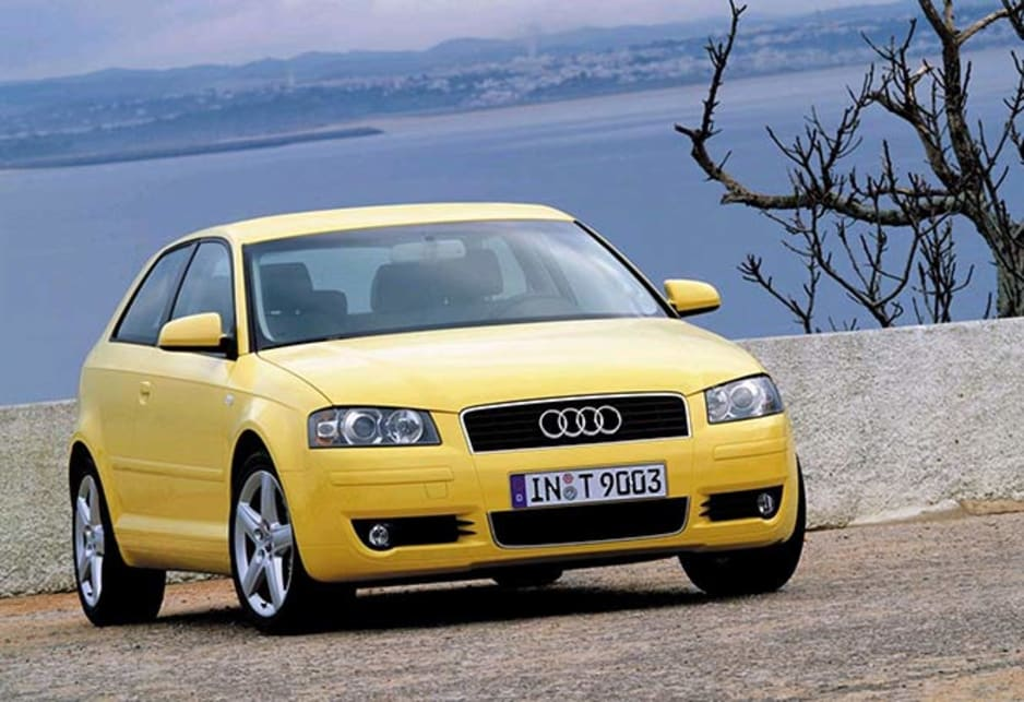 2003 Audi A3. Audi was the first of the iconic German makers to make the bold move of moving down into smaller, relatively affordable cars.