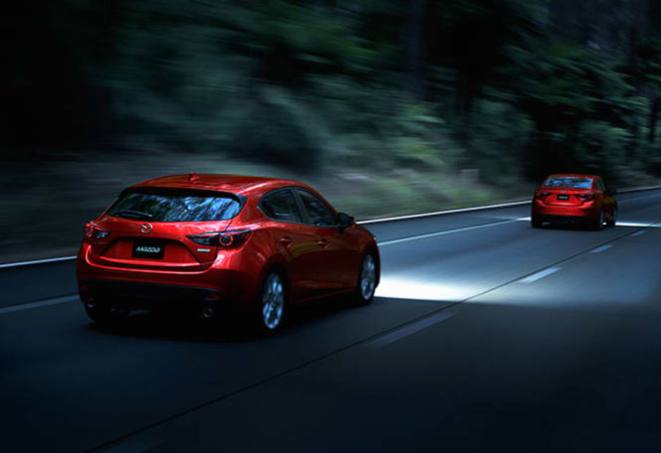 The Mazda 3 arrives with a choice of two naturally aspirated four cylinder petrol engines and two transmissions.