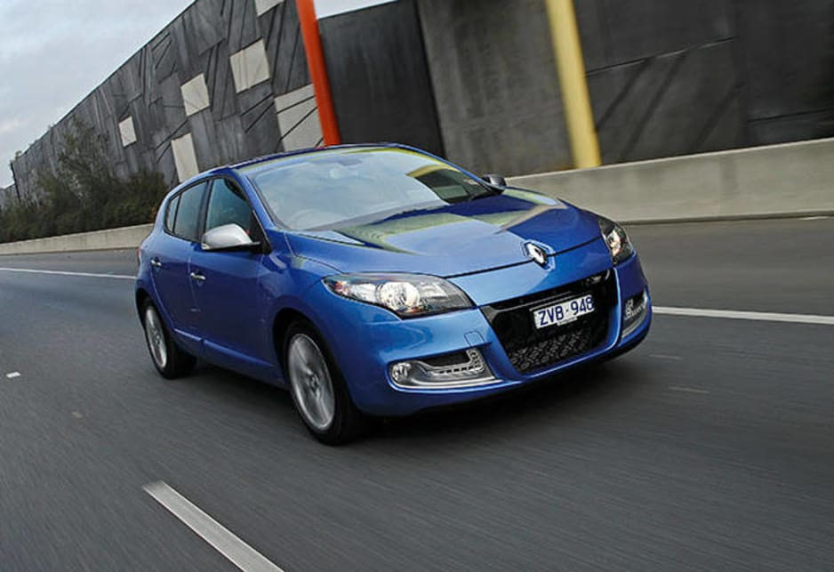 Entry to the GT-Line club starts at $26,490 for the 2.0-litre petrol hatch with a better-than-average continuously variable transmission. Renault Megane GT Line hatch pictured.