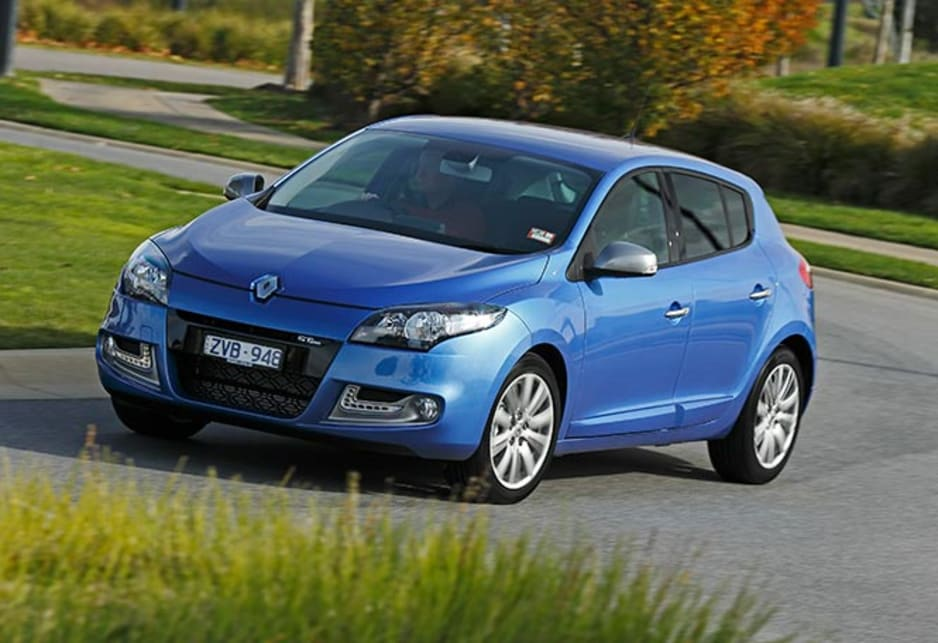 The Renault exterior has aged well and still looks contemporary from any angle. Renault Megane GT Line hatch pictured.