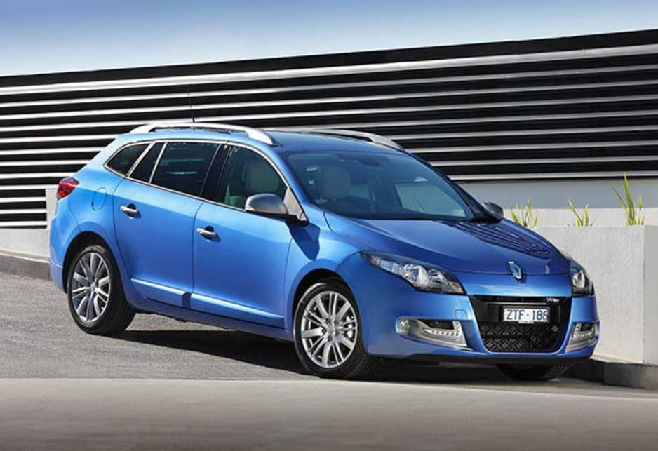 Step up to the leather-clad interior of the GT-Line Premium Pack versions and the petrol model is $29,990; the diesel $32,490. Wagon versions of all models attract a $1500 premium over their hatch counterparts. Renault Megane GT Line Premium Wagon pictured.