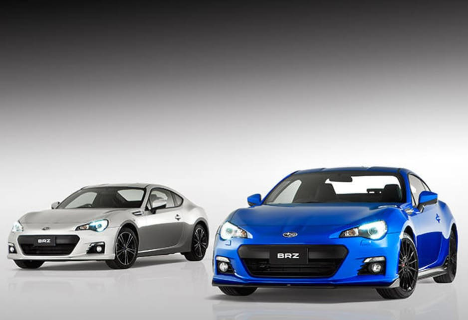 All the BRZ S pack components are made by Subaru Tecnica International (STI), Subaru's performance arm.