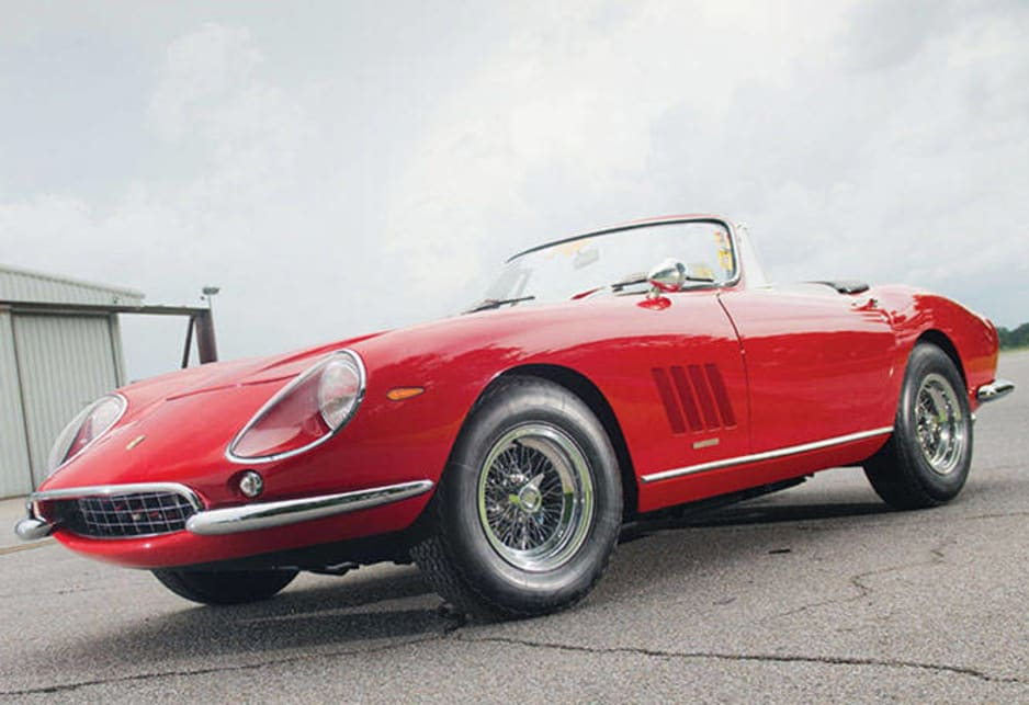 Ferrari 275 Nart Spyder World Record Auction Price Car News Carsguide