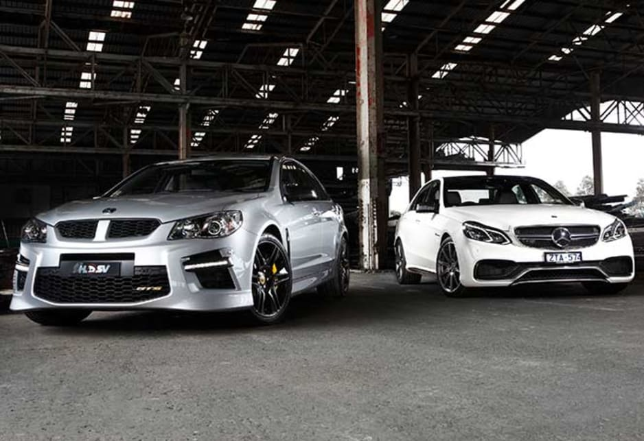 HSV GTS vs Mercedes-Benz E63 S-AMG