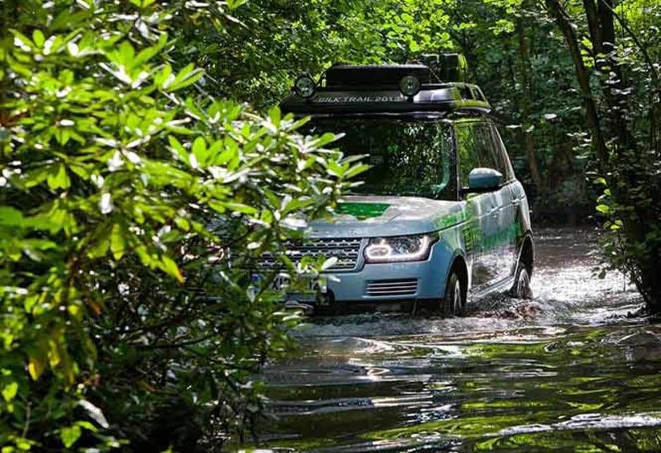 Until now, hybrid technology was problematic in offroad vehicles because water and mud could harm the electric motor and batteries.