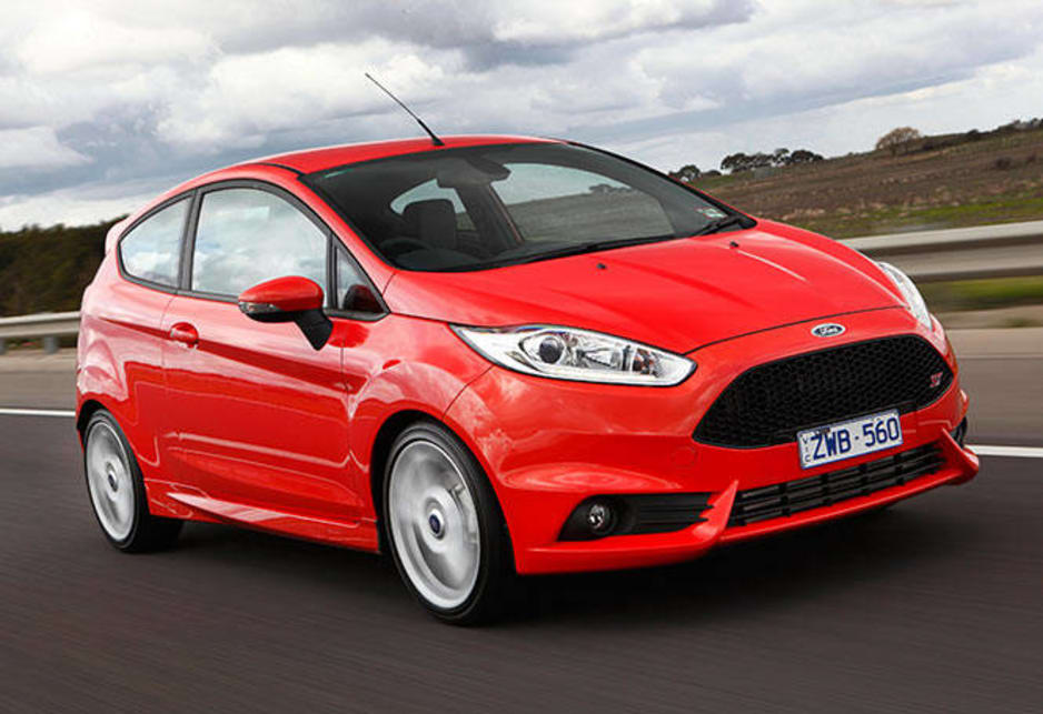 Inspired. The Fiesta ST was tuned by Ford's Team RS crew in Germany, the same people responsible for the Focus ST.