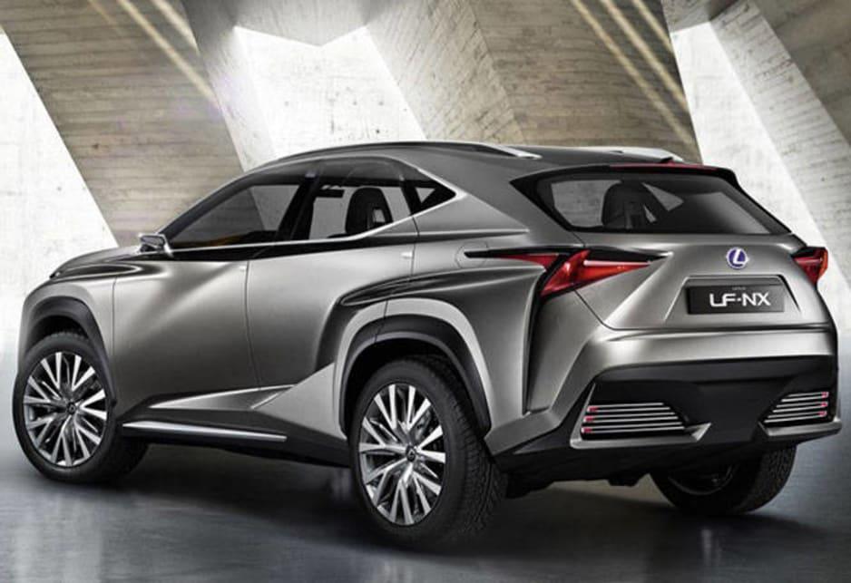 Lexus Lf Nx >> Lexus Lf Nx Concept Revealed Car News Carsguide