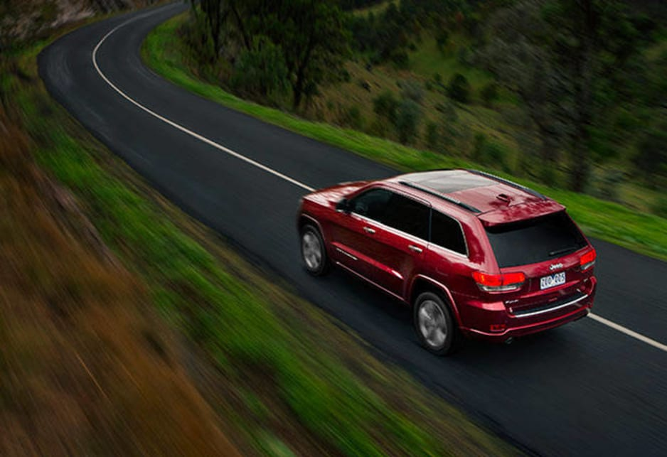 The Grand Cherokee ticks all the boxes for value and the Overland, for the price, throws a unmatched luxury and safety features - oddly, except the important five-star crash rating - plus boasts a strong diesel engine, good fuel efficiency, brilliant off-road capability and a new-found driveway status of simply being a Jeep.