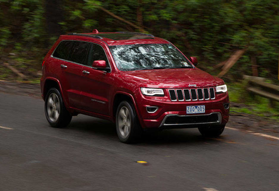 The $71,000 Overland gets perforated leather upholstery with heated front and rear seats (ventilated for the driver), double-pane sunroof, electric tailgate, nine-speaker audio with sat-nav and voice recognition, wood and leather cabin trim, 20-inch alloys and lots more.