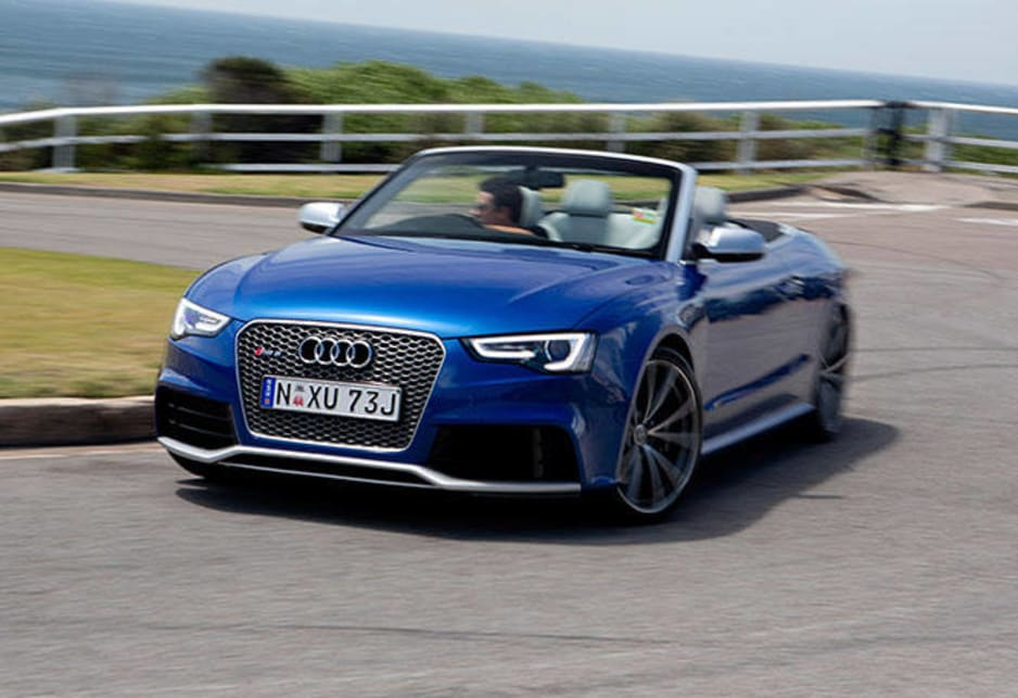 Audi has added a convertible version of its sports RS5 to the coupe that was launched here in October 2010.