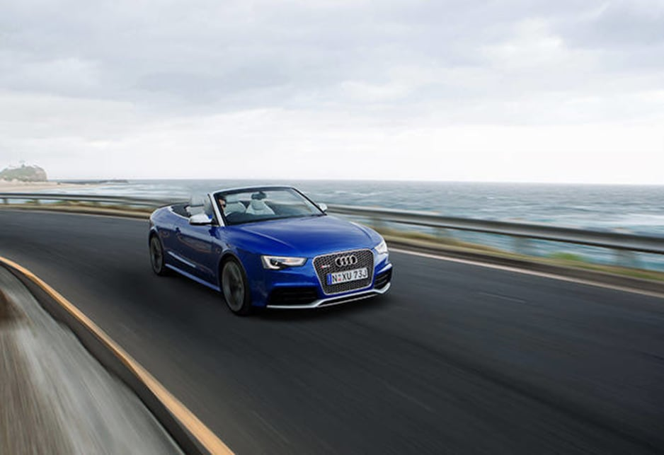 Like its hardtop sibling the RS5 Cabriolet is produced by Audi's high-performance arm, quattro GmbH, the equivalent of Holden's HSV, Mercedes-Benz's AMG, etc.
