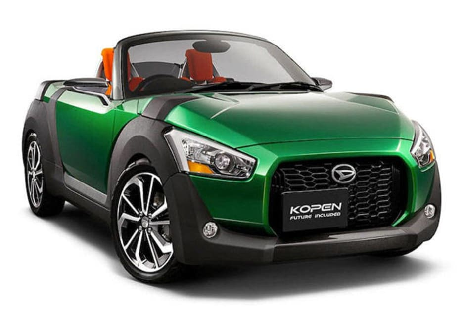 The similarity of the Kopen concepts with the 2011 D-X concept suggests development for the Copen is in the advanced stages, with only the surface design to be finalised.