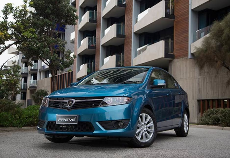 Proton Preve has achieved a five-star rating in crash testing.