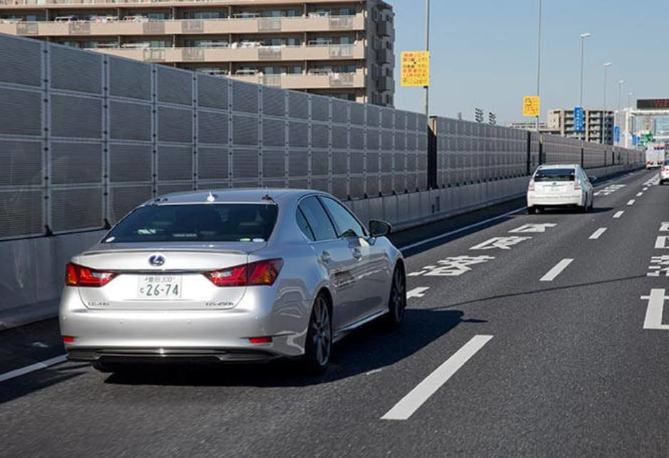 Key to its success are a camera which monitors lane markings, together with GPS mapping of the route ahead and sensors in participating cars that enable them to talk to each other.