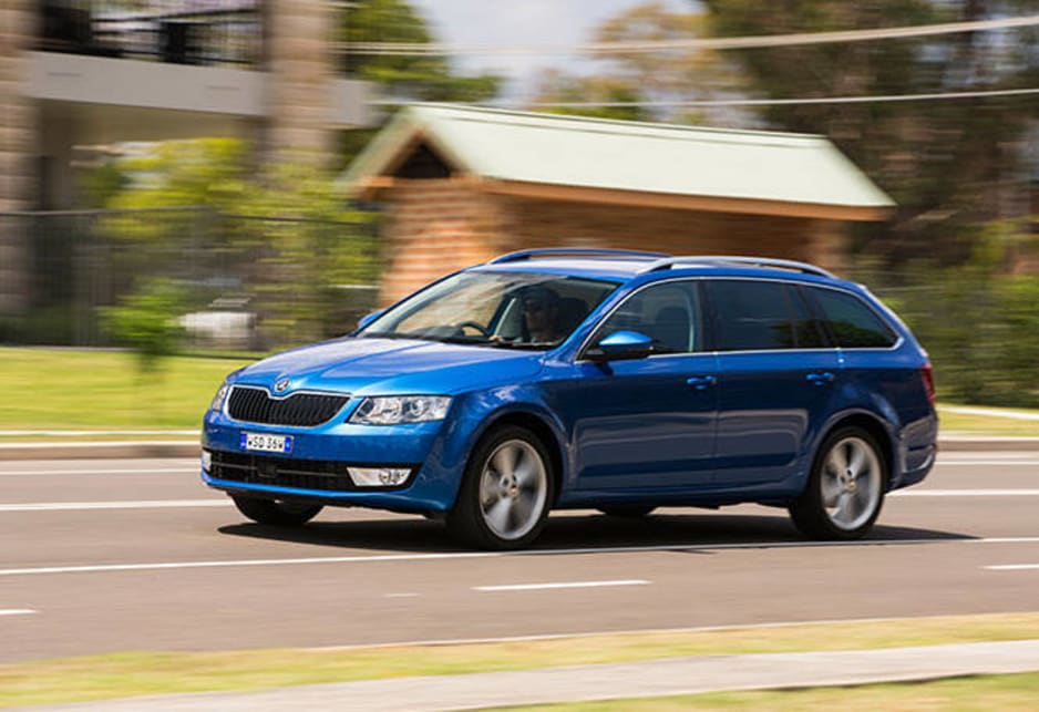 The Octavia accounts for almost 45 per cent of Skoda's global sales, and the wagon version is certainly finding its Australian market.