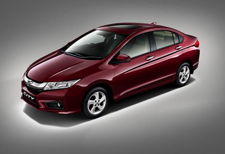 Honda chose India to take the wraps of the new City sedan that will go on sale around the world in 2014, arriving in Australia towards the second half of the year.