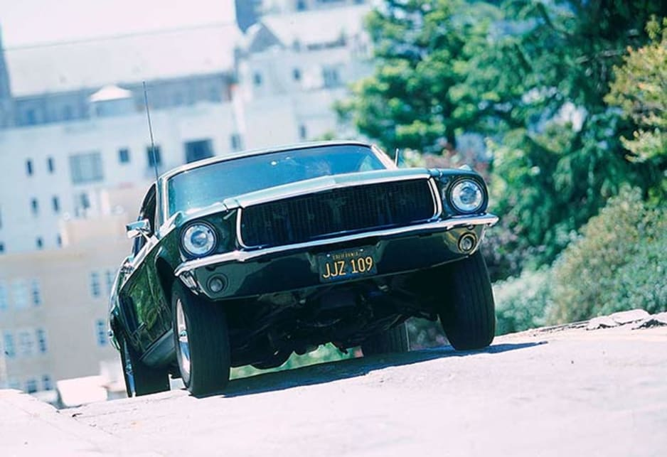 1968 Ford Mustang as driven by Steve McQueen in Bullitt