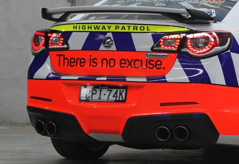 HSV GTS Australia's fastest police car - Car News | CarsGuide