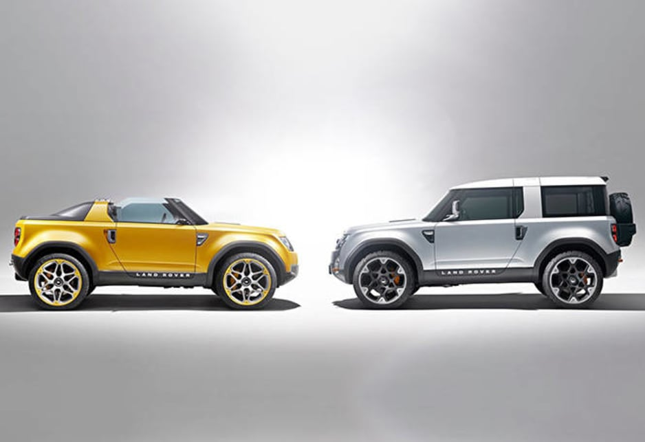 Land Rover DC100 concepts
