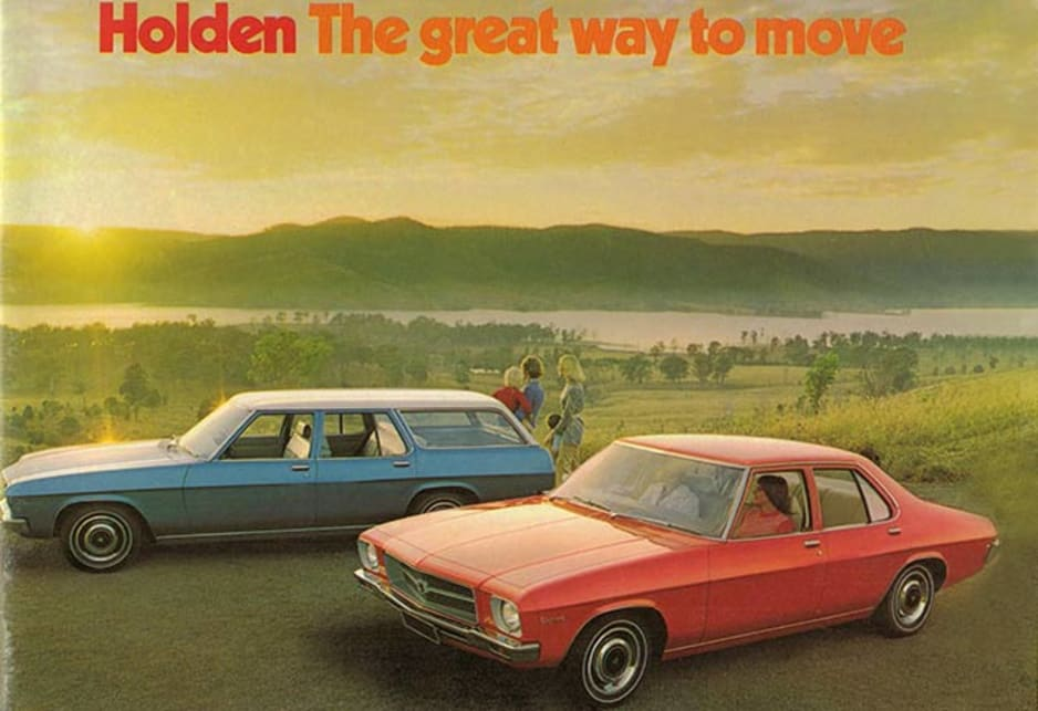 Holden manufacturing history mega gallery