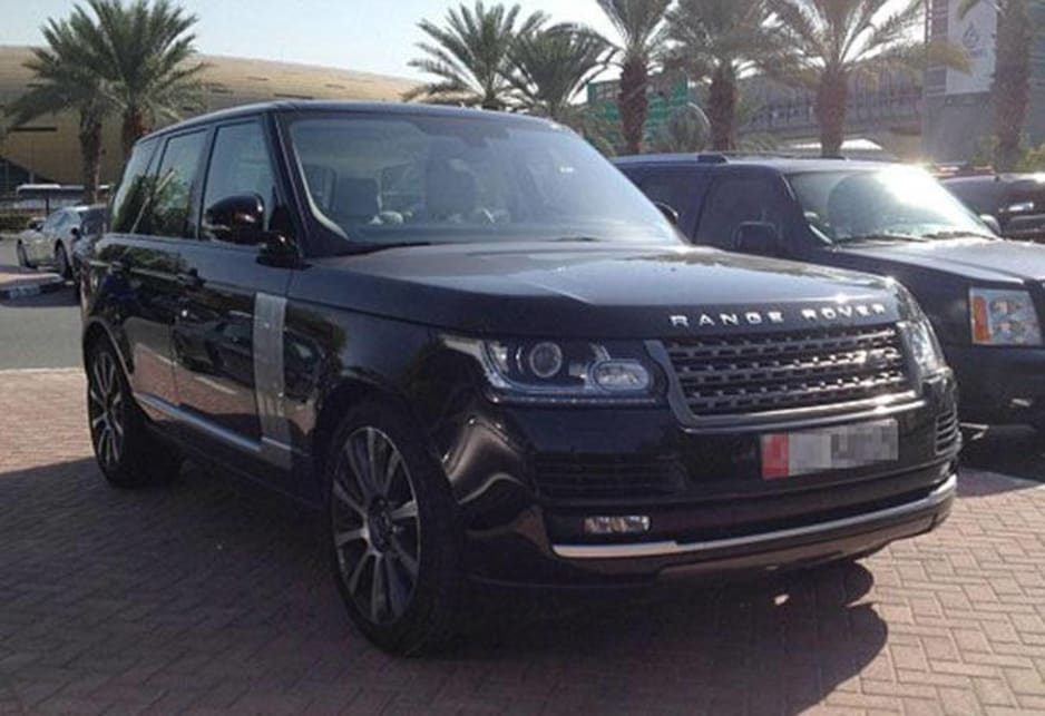 Range Rover in the carpark of the American University of Dubai. Image credit: Meeka Nasser
