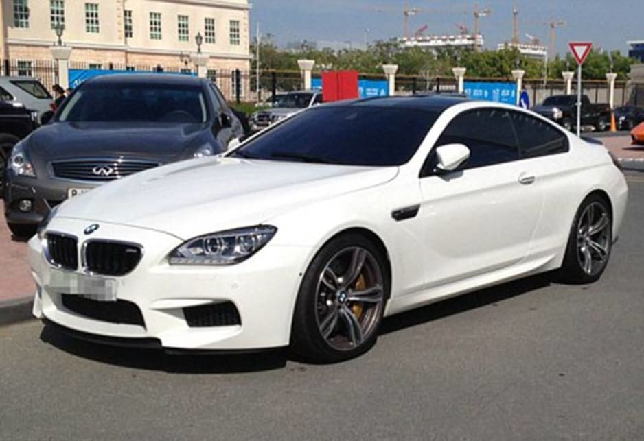 BMW M6 in the carpark of the American University of Dubai. Image credit: Meeka Nasser