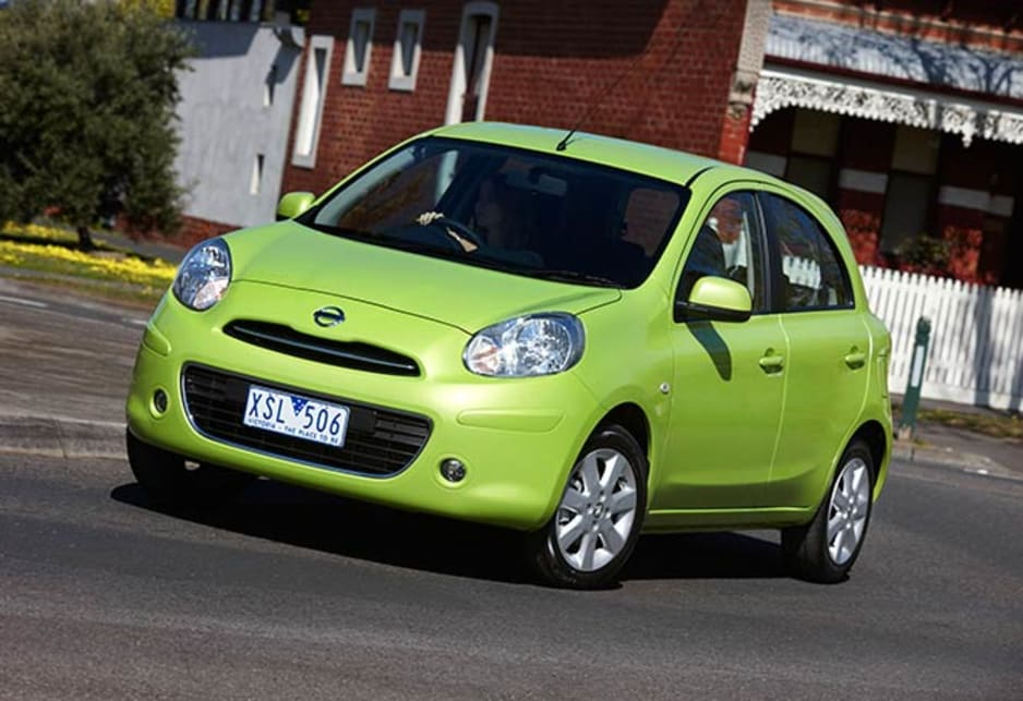 Nissan Micra is a small hatchback with the sort of cheeky styling that appeals to many.
